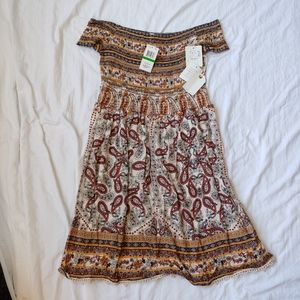 Coco + Jaimeson Peasant Dress L Meadowland